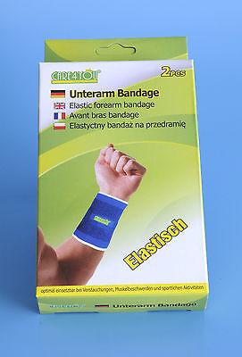 Ehrlich 2 X Unterarm Bandage Manschette Unterarmbandage Armbandage Arm-schoner Tennisarm