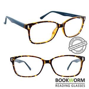 4b0ce70d7a06 Image is loading Large-Rimmed-Strong-Frame-Reading-Glasses-Designer-Retro-
