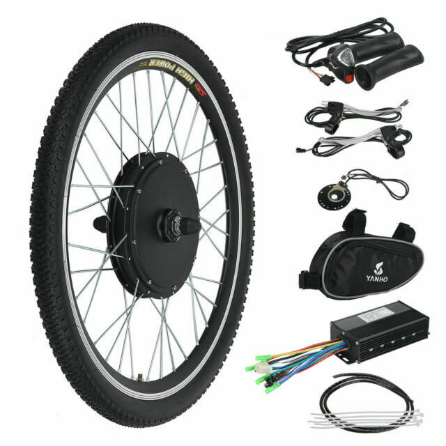 1000W 48V LCD Ebike Conversion Voilamart Electric Bicycle Kit Durable D9T5