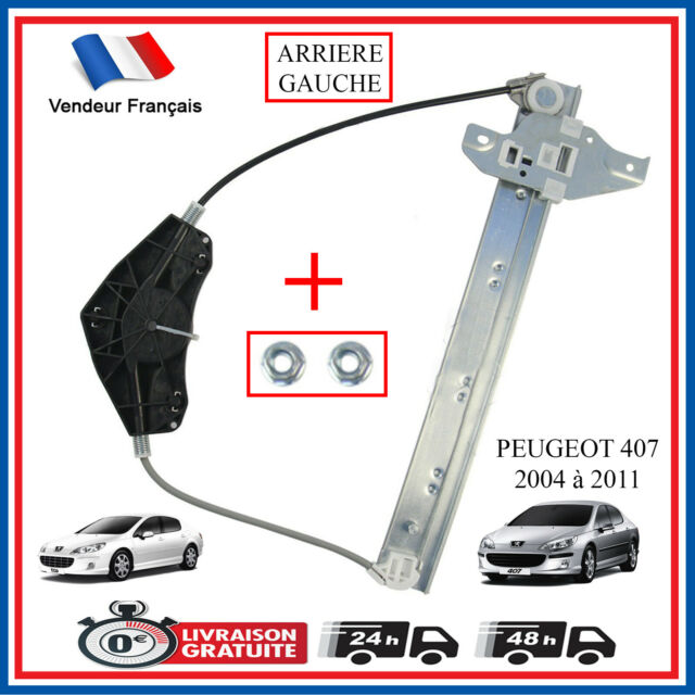 Mecanismo Elevalunas Cristal Trasero Izquierdo Conductor Para Peugeot 407 922385
