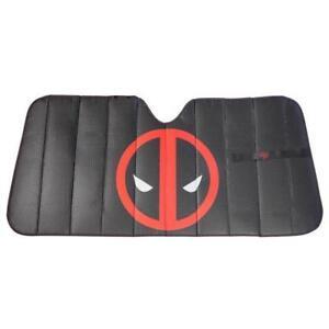 Plasticolor-Marvel-Deadpool-Logo-Front-Car-Truck-SUV-Windshield-Sunshade-Cover