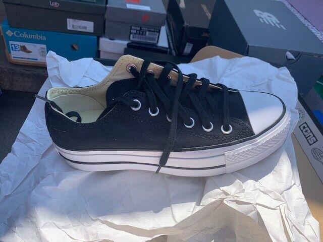 Converse All Star Damen Sneakers Schwarz, EU 37