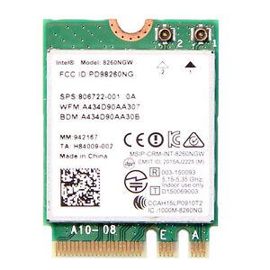 Intel-Dual-Band-Wireless-AC-8260NGW-867Mbps-2-4-5GHz-BT4-2-Wireless-Card