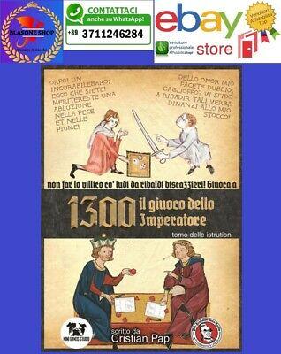 Laborioso 1300 Il Giuoco Dell' Imperatore Manuale Gioco Di Ruolo Medioevo Gdr