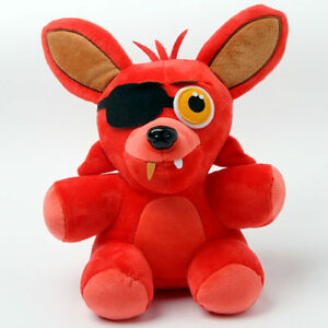 FNAF-Five-Nights-at-Freddy-039-s-Fan-Made-Foxy-Plushie-10-034-Soft-Plush-Toy-KIds-Doll