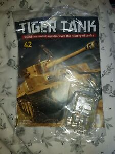 1/16 HACHETTE BUILD YOUR OWN TIGER MODEL TANK ISSUE 42 INC PART