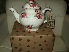 emma bridgewater  ROSE & BEE  LARGE 4 CUP TEAPOT   new