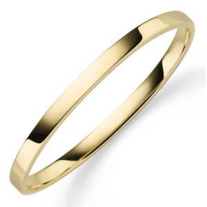Armreif-Armband-Armschmuck-aus-585-Gold-Gelbgold-5mm-breit-flach-glaenzend