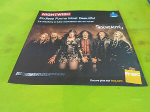 NIGHTWISH-ENDLESS-FORMS-MOST-PLV-30-X-30-CM-INSTORE-PAPER-DISPLAY