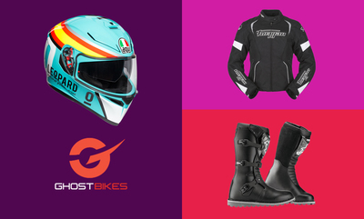 Up to 40% off Motorcycle Clothing & Helmets