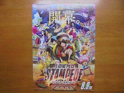 One Piece Flyer chirashi Movie Mini Poster Stampede