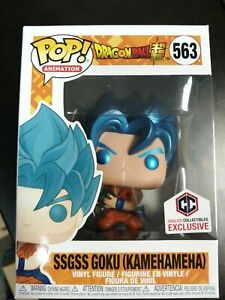Funko-Pop-Chalice-exclusive-Dbz-Super-metallic-goku-ssgss-kamehameha-IN-STOCK