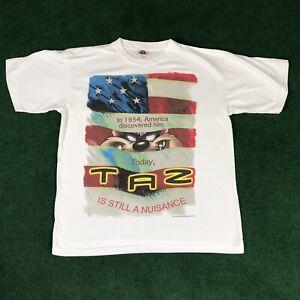 Vintage Looney Tunes 1997 TAZ Sport Tee Shirt Men/'s XL Made In USA
