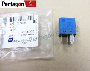 Details about New Genuine Vauxhall Vectra C Signum Blue Fuse Box Relay on