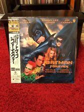 Batman Forever - Laserdisc NTSC Japan OBI Sammlung Verkauf
