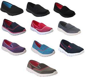 Chaussures Salle Femmes Sport Souple De Walk Mousse Clair À Go fqgtxgvwE