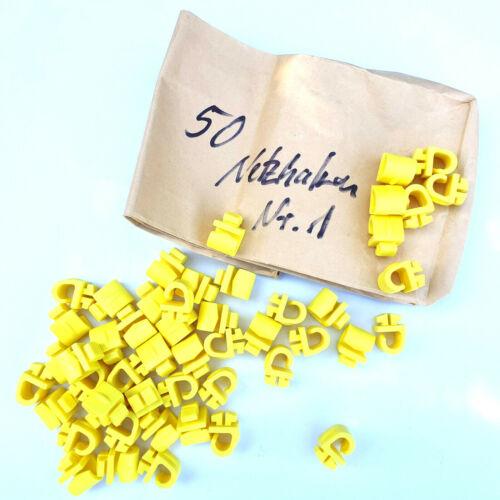 Farbe gelb Netzhaken Typ 1 für Tornetze 50ger Set Cawila bfp Teamsport