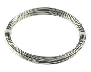 Stainless Steel 316L Wire (20 Ga / 0.80 MM) 50 Feet Coil (SOFT) Wire Wrapping