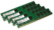 4x 1gb = 4gb memoria RAM ddr2 pc2-3200 533mhz/400mhz