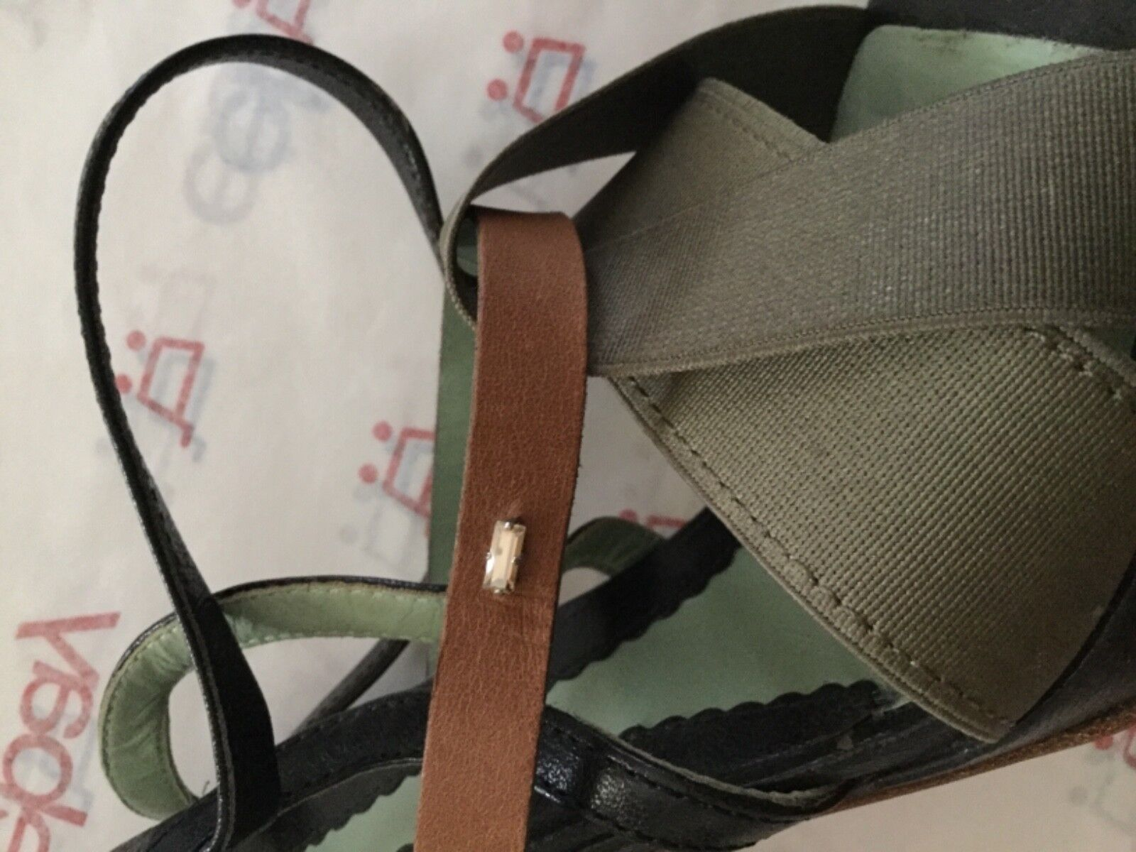 EXCELLENT CONDITION Sportmax Strappy by Max Mara Strappy Sportmax Sandales - 38 50534d