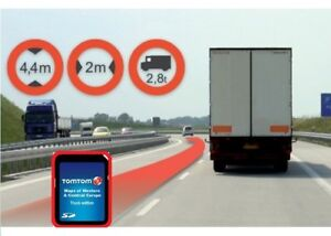 tomtom sd karte work europa iq truck lkw mit 45 l nder f r. Black Bedroom Furniture Sets. Home Design Ideas