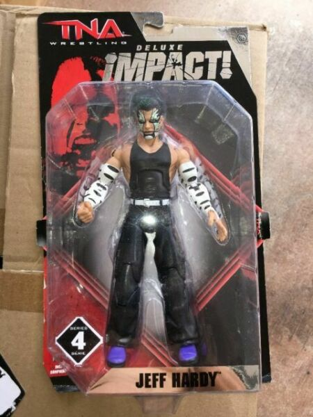 TNA aggressione Deluxe-WWE Jakks WRESTLING Figura WWF Jeff Hardy A