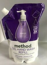 2 Pack French Lavender Method Gel Hand Soap Refill 34 Ounce
