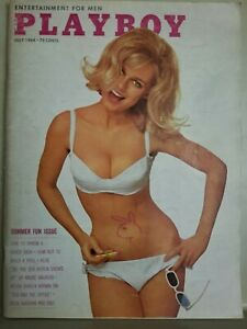 Playboy-July-1964-Very-Good-Condition-Free-Shipping-USA