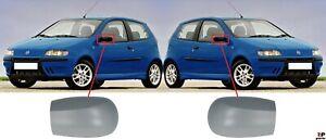 Pour-Fiat-Punto-99-10-nouvelle-Aile-Coque-Retroviseur-Casquette-amorce-Paire-Set-l-amp-r