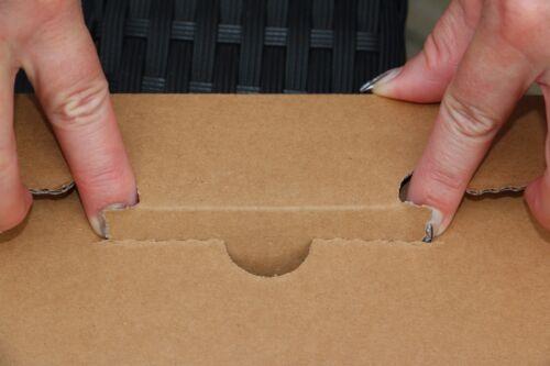 *NEU* 20 St Premium Versandkartons für 1 LP//Maxi 12 Zoll Vinyl 325x325x4 mm