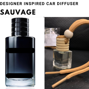 Diorr Sauvage inspired Car Air Freshener Designer Car Scent Diffuser FREE P&P