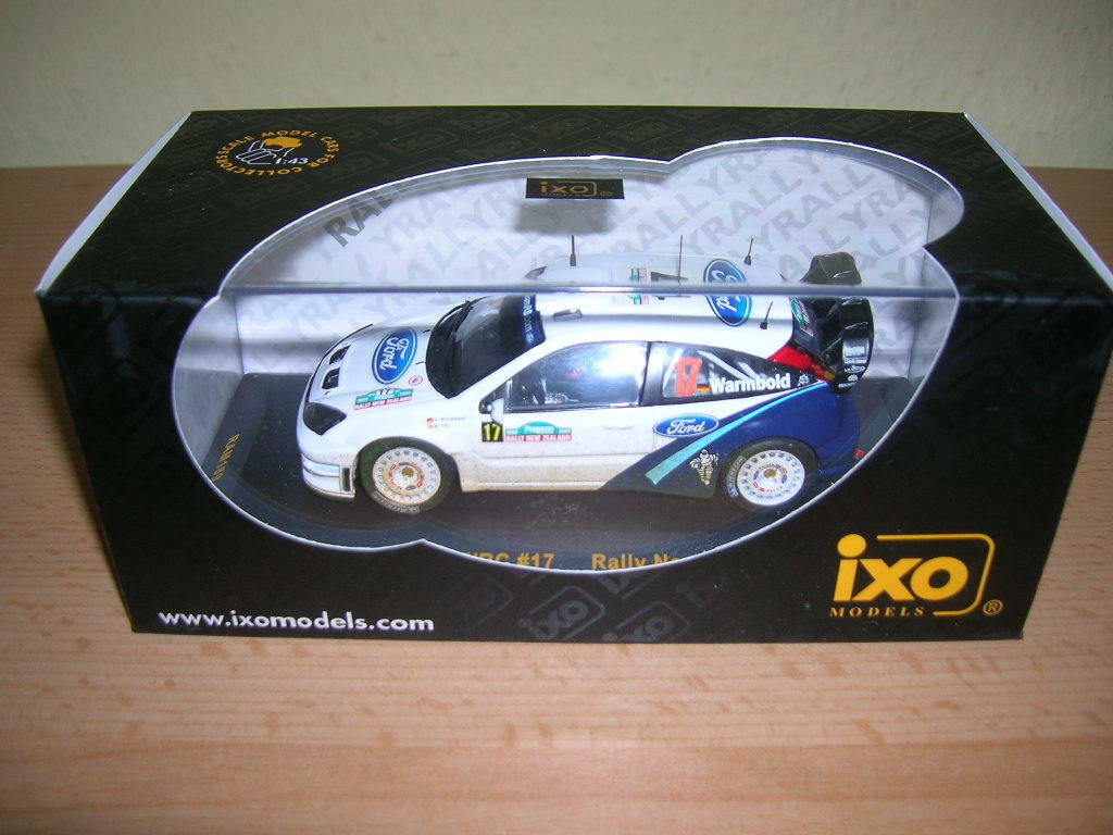 IXO FORD FOCUS WRC COURSE New #17 Zealand 2005 A.Warmbold - M. Orr 1:43, #17 New Lacs b78223