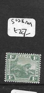 MALAYA FMS (P3012B) TIGER 1C SG 28 MOG