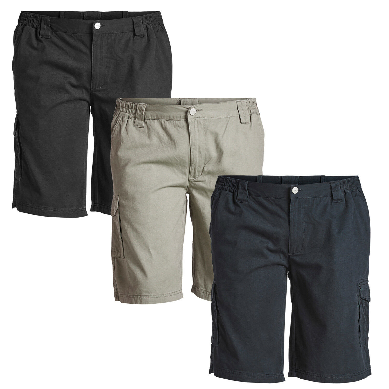 Cargo Shorts Herren von North 56°4 in Übergrößen 2XL 3XL 4XL 5XL 6XL 7XL 8XL | Kostengünstig