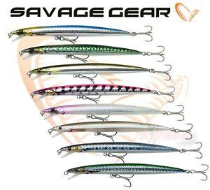 SAVAGE GEAR SANDEEL JERK MINNOW FLOATING LURES 210mm 44g bargain price