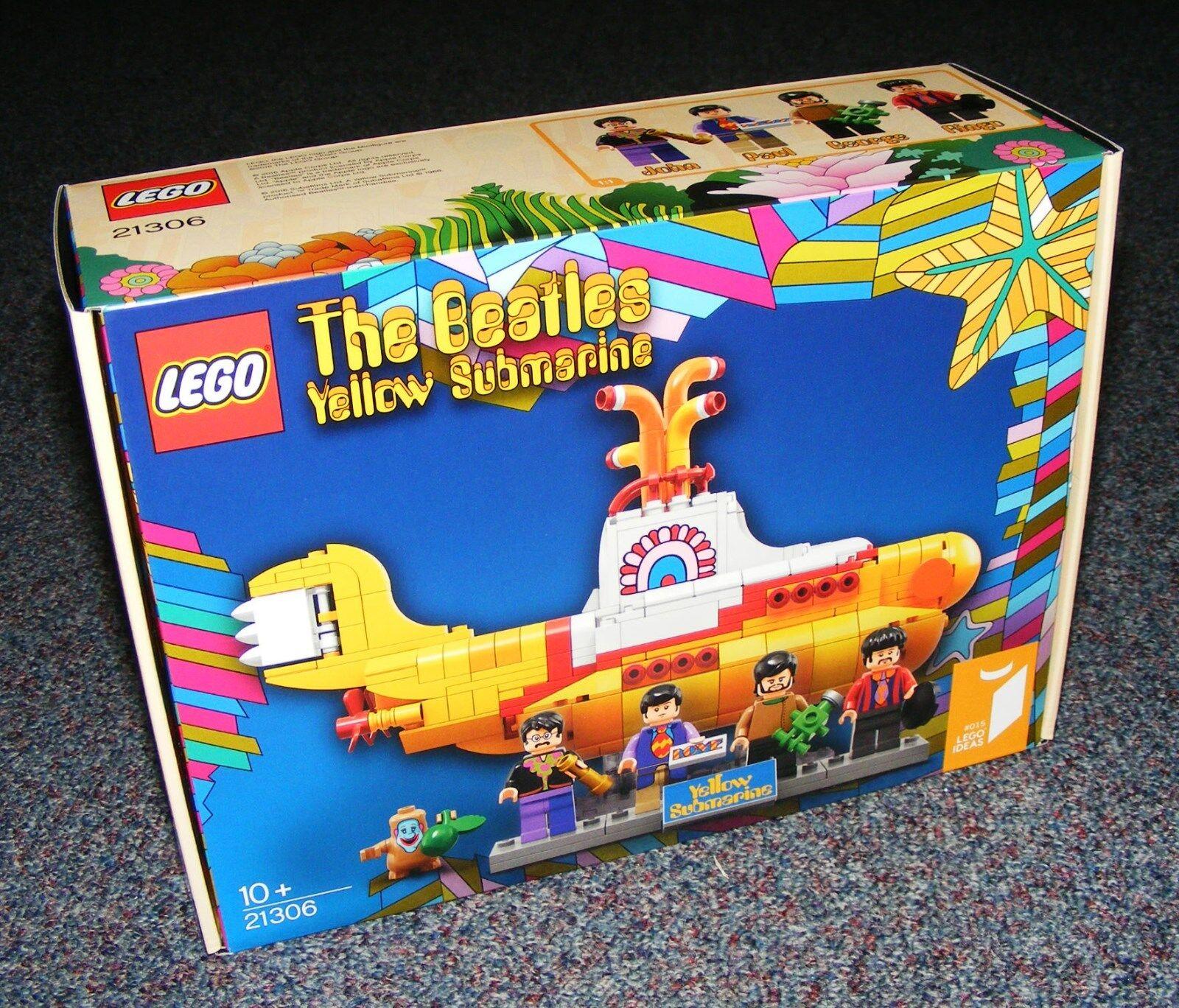 LEGO IDEAS THE BEATLES YELLOW SUBMARINE 21306 BRAND NEW SEALED