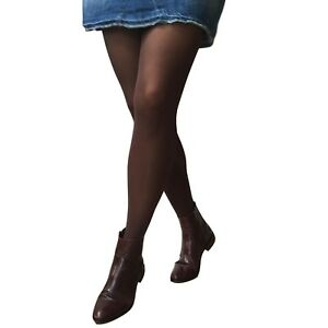 a2b224ea3 Image is loading Jonathan-Aston-40D-Simply-Colour-Opaque-Tights-Chocolate-
