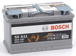 Bosch-S5A11-Batterie-de-Voiture-80A-h-800A