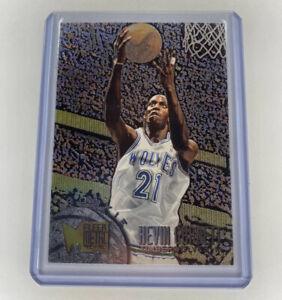 1995-96 Kevin Garnett ROOKIE Fleer Metal Card #167 HOF Pack Fresh!