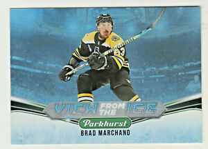 2019-20-Upper-Deck-Parkhurst-VIEW-FROM-THE-ICE-V-5-BRAD-MARCHAND-Boston-Bruins