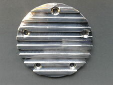 CNC FINNED ALUMINIUM IGNITION TIMER COVER FOR HARLEY DAVIDSON TWIN CAM, 5 HOLE