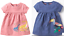 Mini boden baby girl dress 0 3 6 9 12 18 24 months 2 3 4 years NEW dino parrot