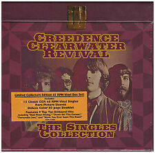 Creedence Clearwater Revival ,The Singles Collection  Box 15 Vinyl Singles 45RPM