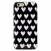 Sonix Inlay Case Hard Shell for Apple Iphone 6 6S Heart Breaker Black Pink White