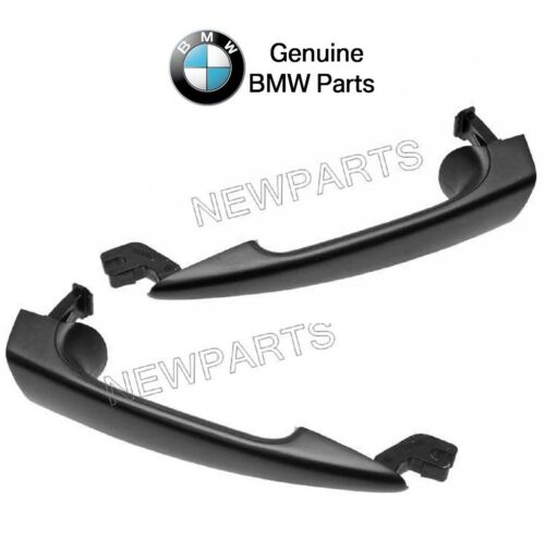 For BMW E46 Pair Set of Front Left /& Right Outside Door Handle Primered Genuine