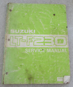 Suzuki-Service-Manual-for-LT-F230-1986
