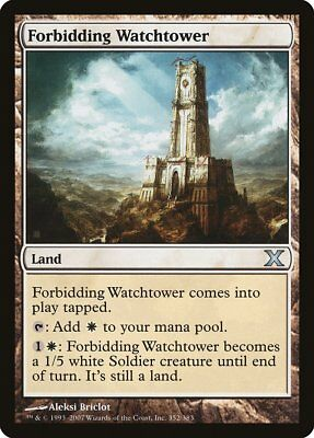 Forbidding Watchtower Urza/'s Legacy NM Land Uncommon MAGIC MTG CARD ABUGames