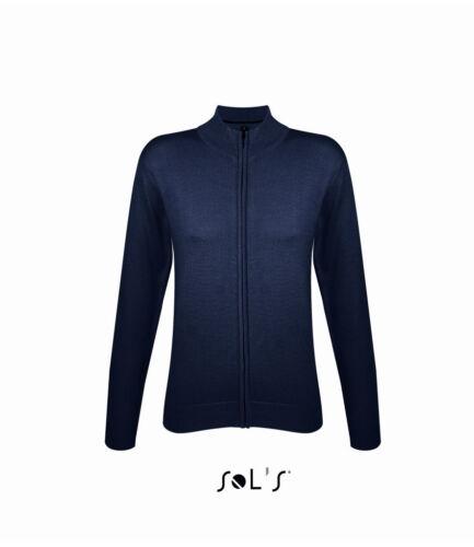 SOL/'S Ladies Gordon Full Zip SOL/'S SOLS Womens//Ladies Cotton Acrylic Cardigan