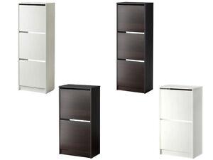 998bf08b2a874 Caricamento dell immagine in corso IKEA-SCARPIERA-A-2-o-3-SCOMPARTI-LEGNO-