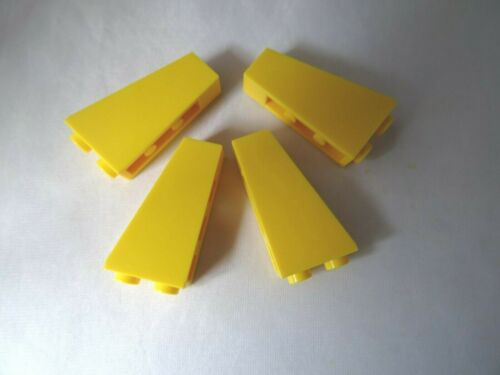 LEGO Part 2449 Jaune 75 2 x 1 x 3 inversé pentes X 4